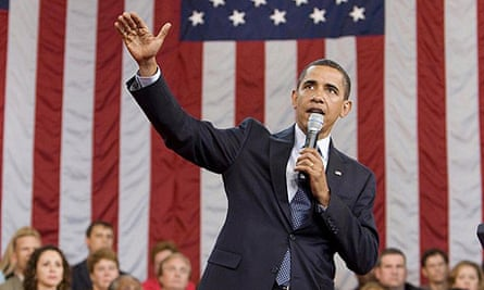Barack Obama speaks during a town hall meeting on healthcare in Raleigh, North Carolina