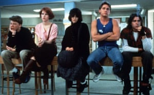 The Breakfast Club in 1985 featured Anthony Michael Hall, Molly Ringwald, Ally Sheedy Emilio Estevez and Judd Nelson. The film was about five teens who spend a Saturday together in detention at their high school