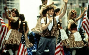 Matthew Broderick stars in Ferris Bueller's Day Off. The film follows high school senior Broderick's character, who decides to skip school and spend the day in downtown Chicago