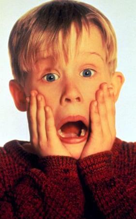 Macaulay Culkin in the 1990 film Home Alone