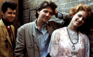 Jon Cryer, Andrew McCarthy and Molly Ringwald starred in Pretty in Pink, the 1986 movie about teenage love