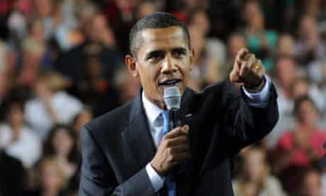 Barack Obama in Portsmouth, New Hampshire