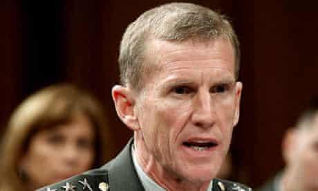 General Stanley A McChrystal