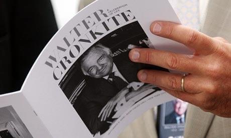 Obama Praises Us Anchor Walter Cronkite At Memorial Service Media
