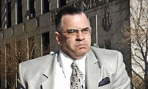 John Gotti Jr enters the Manhattan federal court in 2006. Gotti's fourth racketeering trial gets under way today.