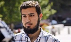 US terrorism suspect Najibullah Zazi in Denver, Colorado