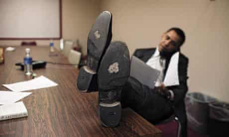 Barack Obama - shoes