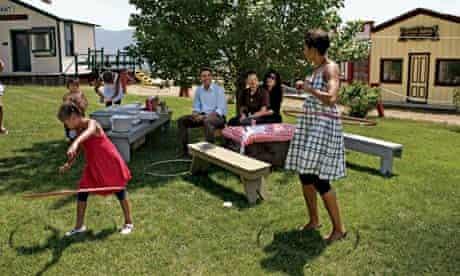 Barack Obama - hula hoop