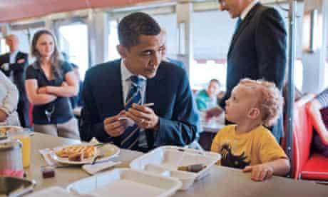 Barak Obama - kid