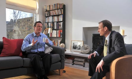 David Cameron interviewed on the Andrew Marr show.