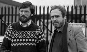 Danny Morrison and Gerry Adams