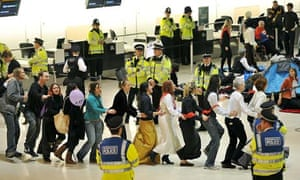 Heathrow third runway protest