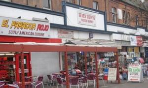 Seven Sisters market, north London