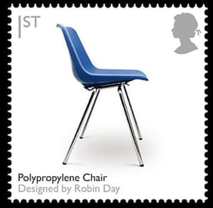 British design stamps: Polypropylene chair