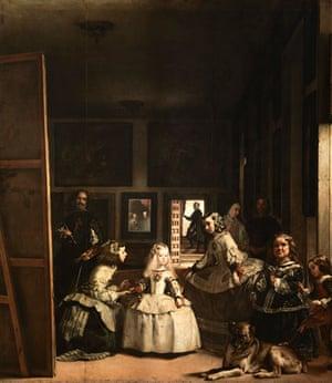 Gallery prado on google earth : Las Meninas  by Velazquez