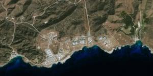 Gallery Guantanamo Bay: A satellite image of the Guantanamo Bay prison facility
