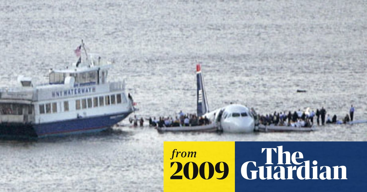 Plane crashes in Hudson river in New York | US news | The