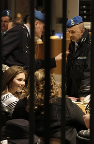 Gallery Meredith Kercher trial: Amanda Knox sits in court