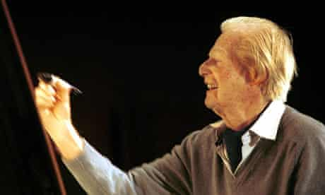 Tony Hart in a portrait from 2005