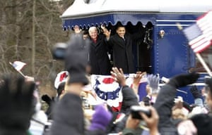 The Obama train