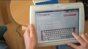 CrunchPad web tablet PC