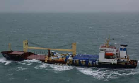 Russian ship loses wood