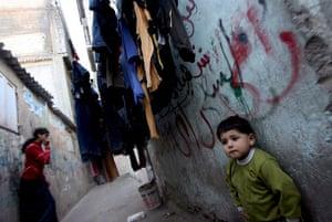 Gallery Gaza then and now: Jabalia refugee camp, Palestinian refugee children