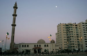 Gallery Gaza then and now: Gaza City, Gaza: The Al Sheikh Redwan mosque in February 2006