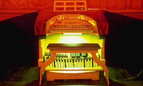 Wurlitzer organ in Lincoln Theater