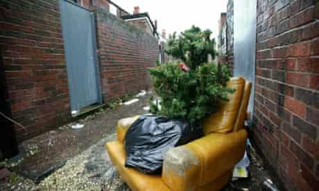 christmas tree waste