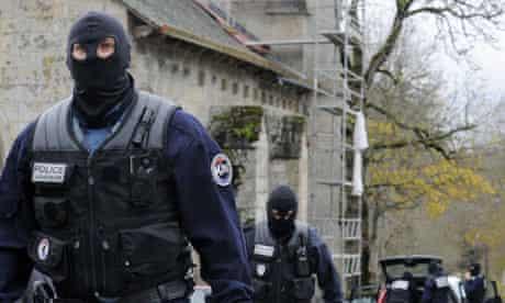 Police in the remote village of Tarnac