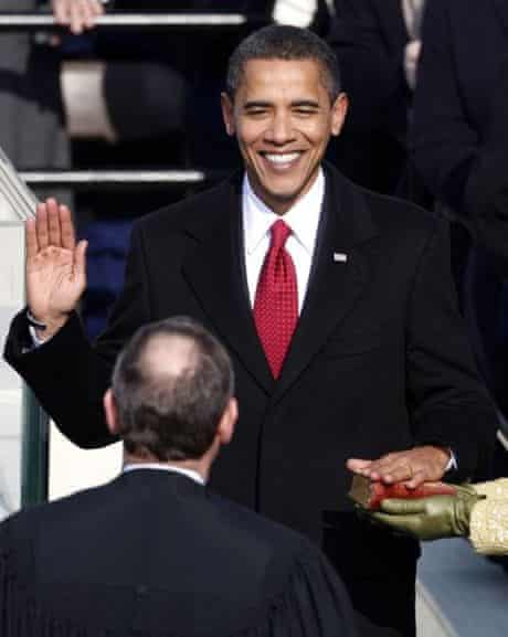 Obama swearing-in