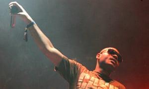 British rapper Kano