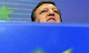 Jose Manuel Barroso speaking in Brussels after Russia and Ukraine resolved their gas dispute