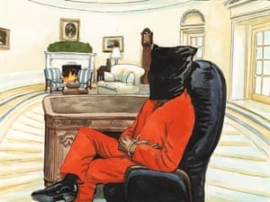 22.01.09: Steve Bell on Obama's first day in the Oval Office