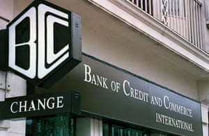 Gallery 1990s recession: A branch of the Bank of Credit and Commerce International, BCCI, in 1991