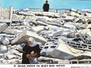 23.01.09: Steve Bell on the quest for peace in Gaza