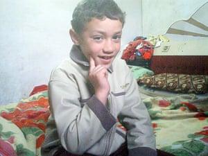 Gallery child victims in Gaza: Mohammad Shaqoura