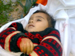 Gallery child victims in Gaza: Amal Abed Rabbo
