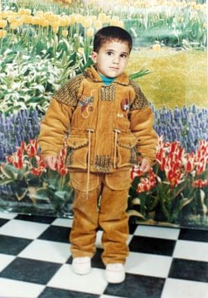 Gallery child victims in Gaza: Sayyd Abu Eisha