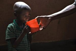Gallery Laurent Nkunda  : Malnourished refugee in DR Congo