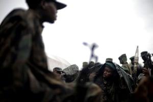 Gallery Laurent Nkunda  : Rebel fighters loyal to Laurent Nkunda
