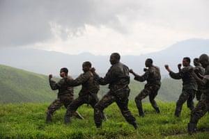 Gallery Laurent Nkunda  : CNDP fighters in DR Congo