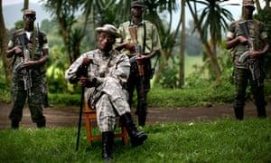 Congo rebel leader Laurent Nkunda