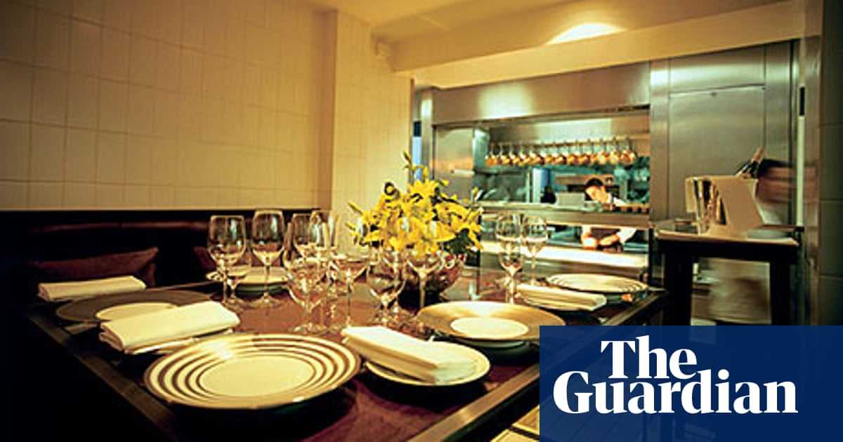 Open Kitchens Crossing The Robuchon Life And Style The Guardian