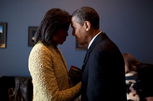 Gallery Obama: the new president: Barack and Michelle on Inauguration Day
