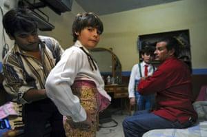 Gallery Michelito, bullfighter: Michelito, ten year old bullfighter