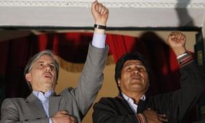 Evo Morales, Alvaro Garcia Linera