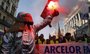 France's trade-unions call on workers to strike all over the country