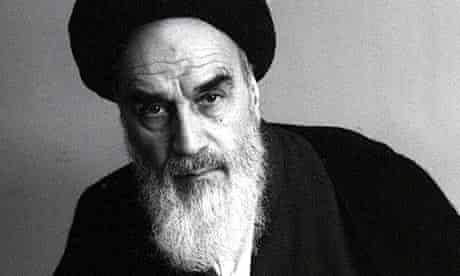 Ayatollah Khomeini, Iranian Spiritual Leader,1989